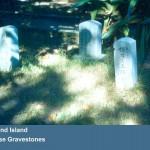 Japanese_Gravestones1954