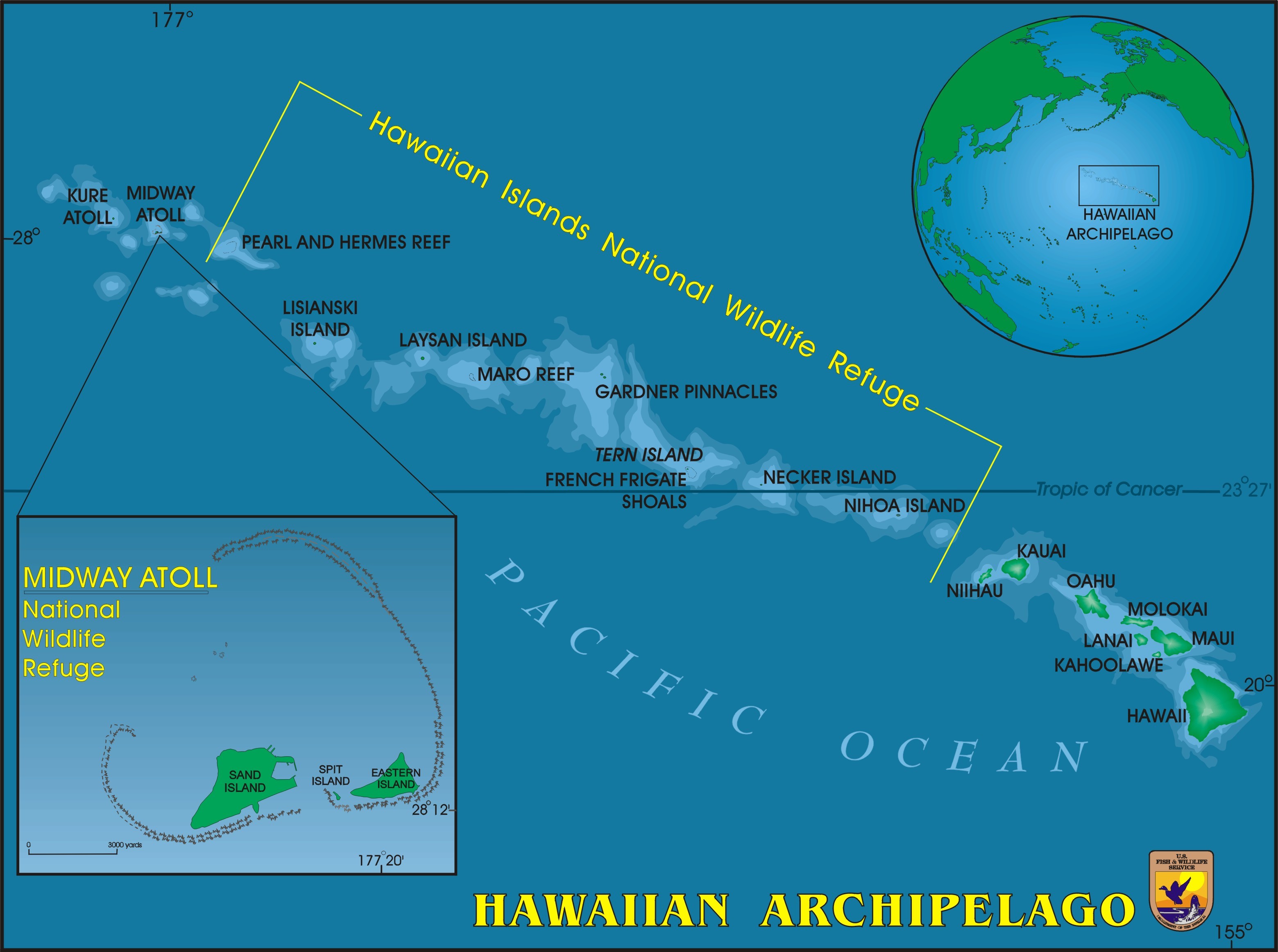 Midway Island Map Maps   Midway Island